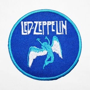 Led Zeppelin patch iron on band badge 70s music